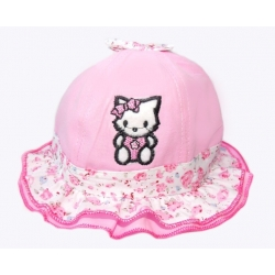 "καπελο ""Hello Kitty"" pink"