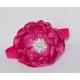 Fuchsia rhinestone flower