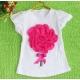 """Μπλουζάκι """"3D flower"""" watermellon"""