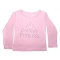 """μπλουζάκι """"Daddys Princess"""" pink"""