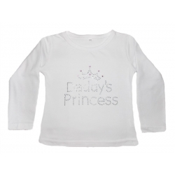 "μπλουζάκι ""Daddys Princess"" white"