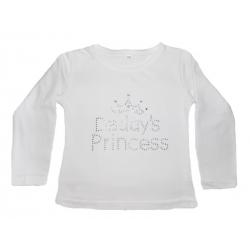 """μπλουζάκι """"Daddys Princess"""" white"""