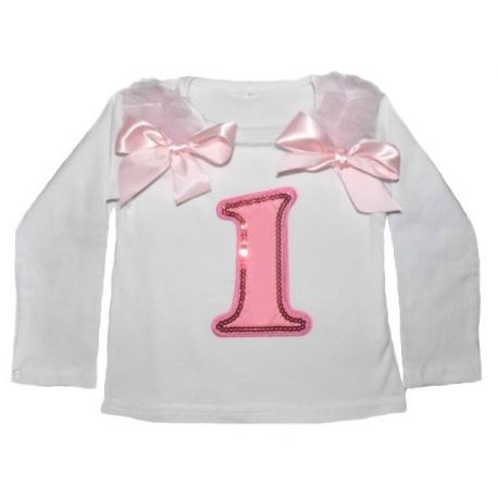 Μπλουζάκι για τα πρώτα (1) γενέθλια