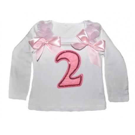μπλουζάκια για τα δεύτερα (2) γενέθλια