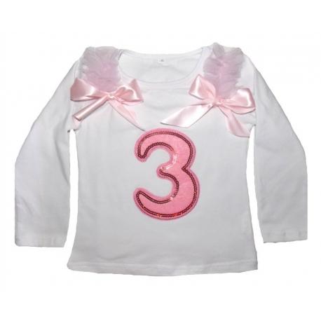 μπλουζάκια για τα τρίτα (3) γενέθλια