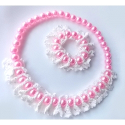 """Σετ """"Lace & pearls"""""""