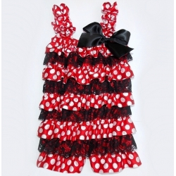 "romper ""Minnie Mouse"""