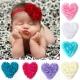 Red Shabby Heart
