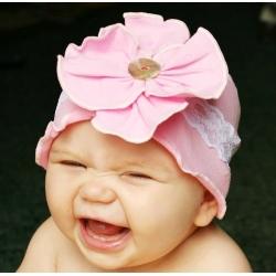 Σκουφάκι για κορίτσι Baby pink
